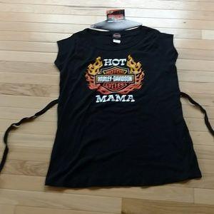 NWOT Harley Davidson maternity shirt